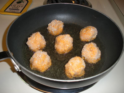 Croquettes in the Pan